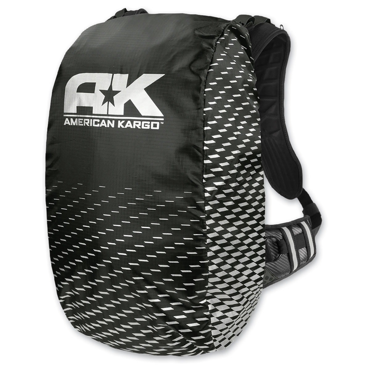 American Kargo Trooper Backpack Raincover Black