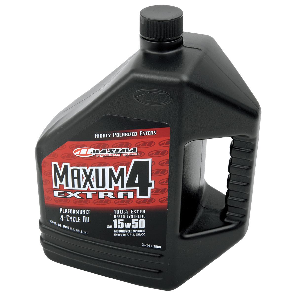 Maxima Maxum4 Extra Synthetic 15W50 Engine Oil Gallon