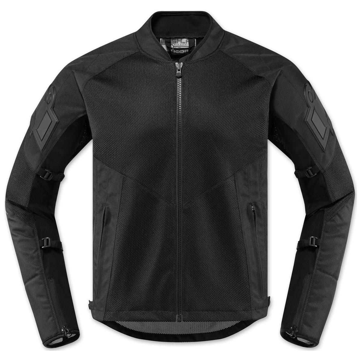 ICON Men's Mesh AF Black Jacket