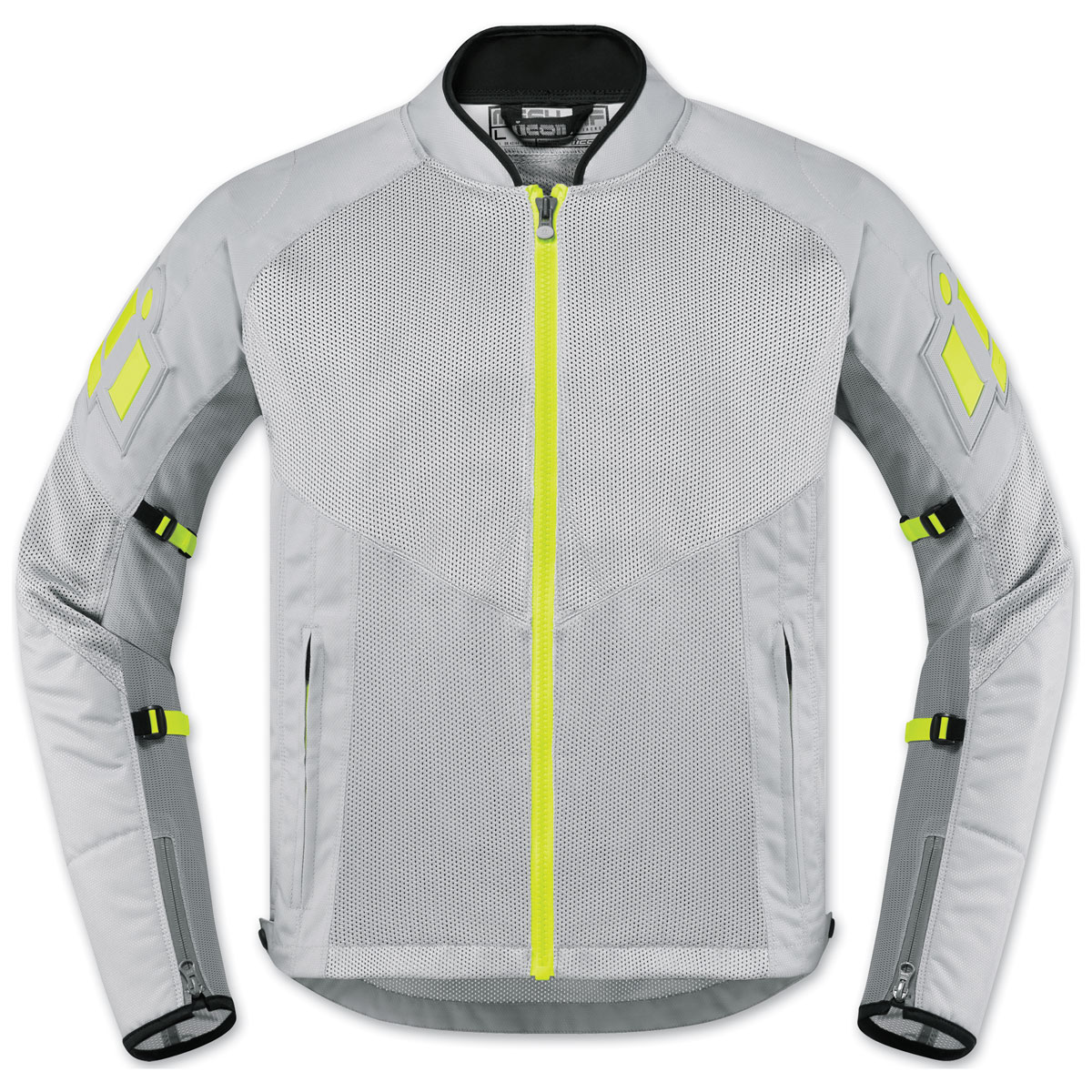 ICON Men's Mesh AF Gray Jacket