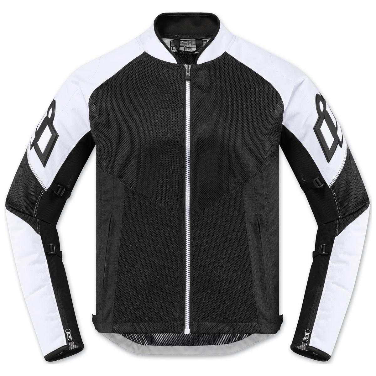 ICON Men's Mesh AF White Jacket