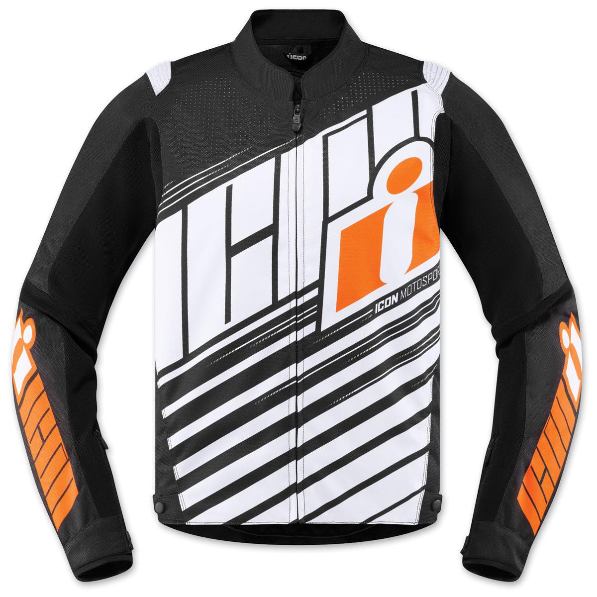 ICON Men's Overlord SB2 Orange Jacket