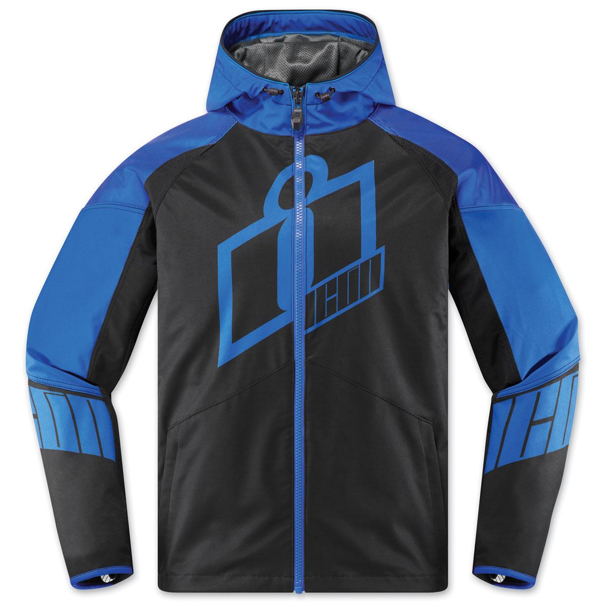 ICON Men's Merc Crusader Blue Jacket