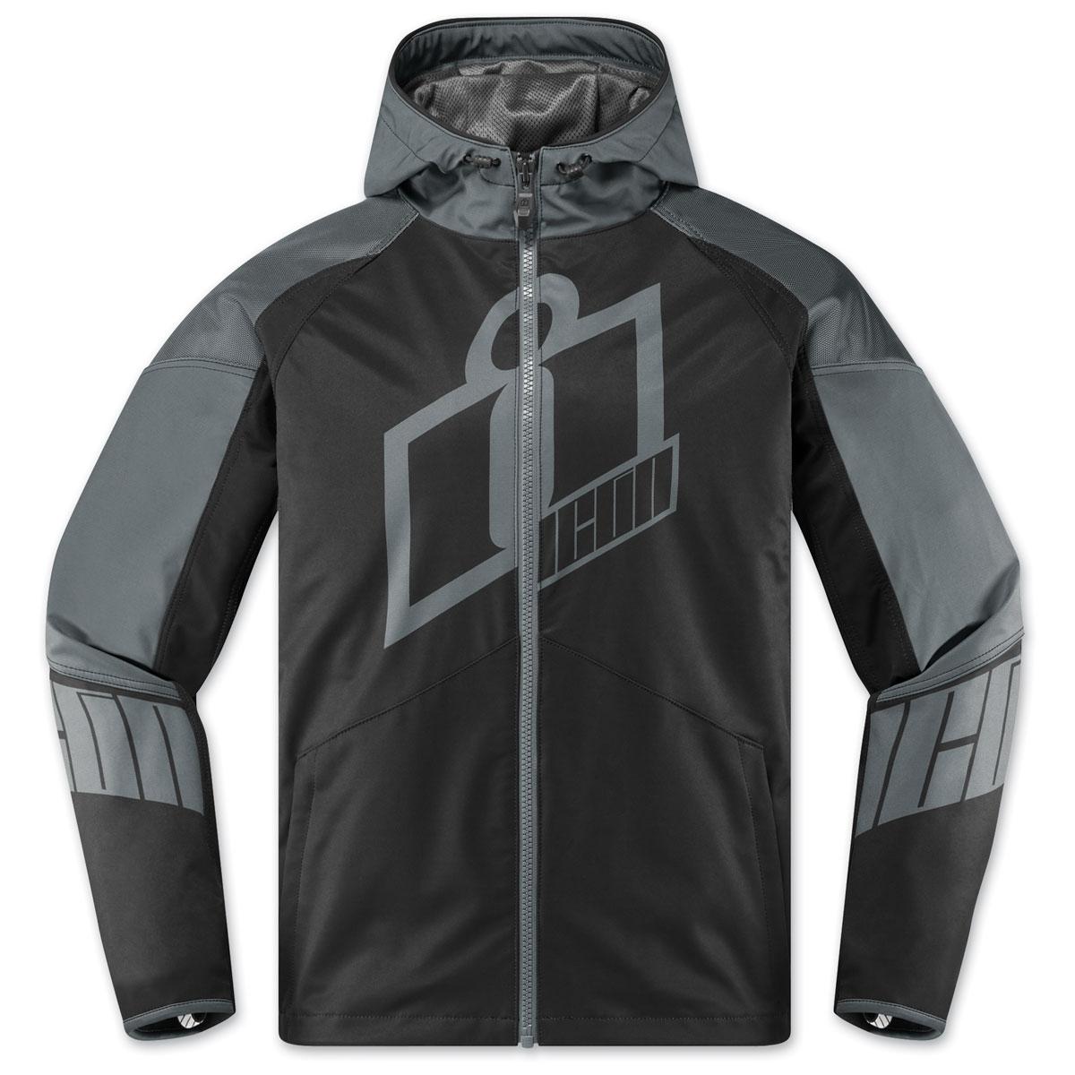 ICON Men's Merc Crusader Gray Jacket