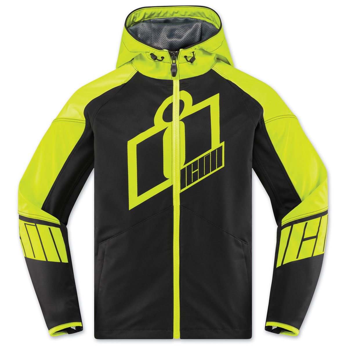 ICON Men's Merc Crusader Hi-Viz Jacket