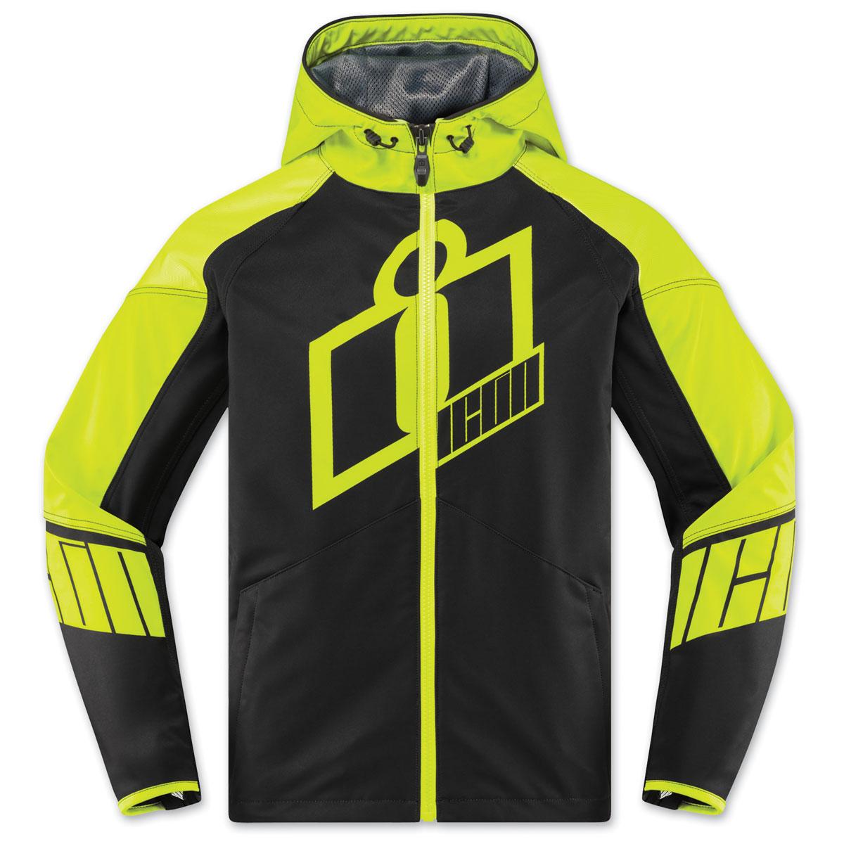 ICON Men's Merc Crusader Hi-Viz Jacket