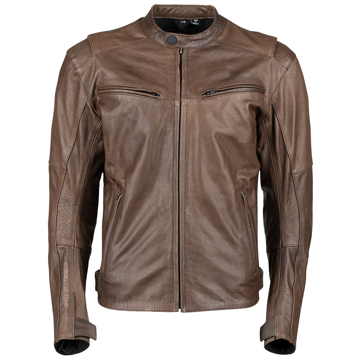 Speed and Strength Men's Dark Horse Brown Leather Jacket