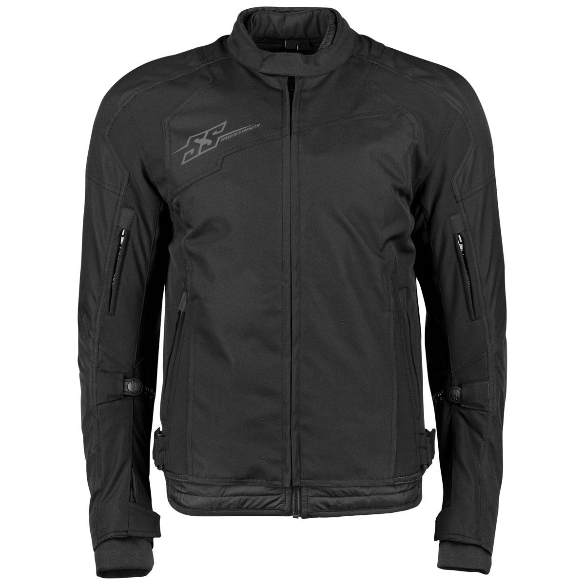 Speed and Strength Men's Sure Shot Black Textile Jacket