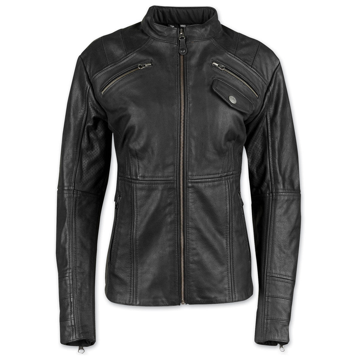 Speed and Strength Women's Seventh Heaven Black Leather Jacket