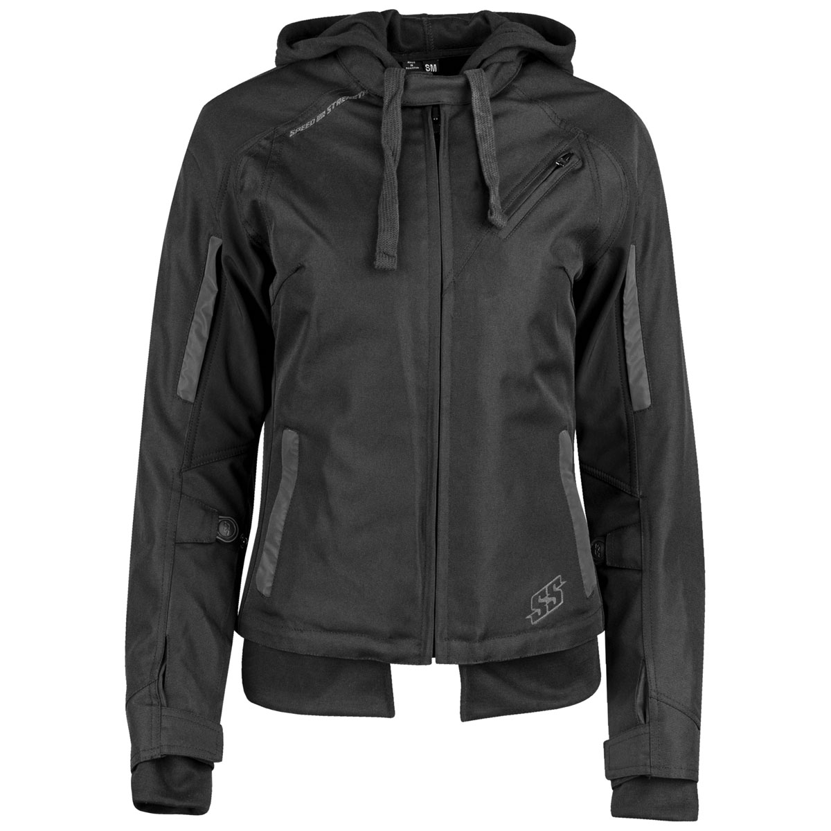 Speed and Strength Women's Spell Bound Black Textile Jacket