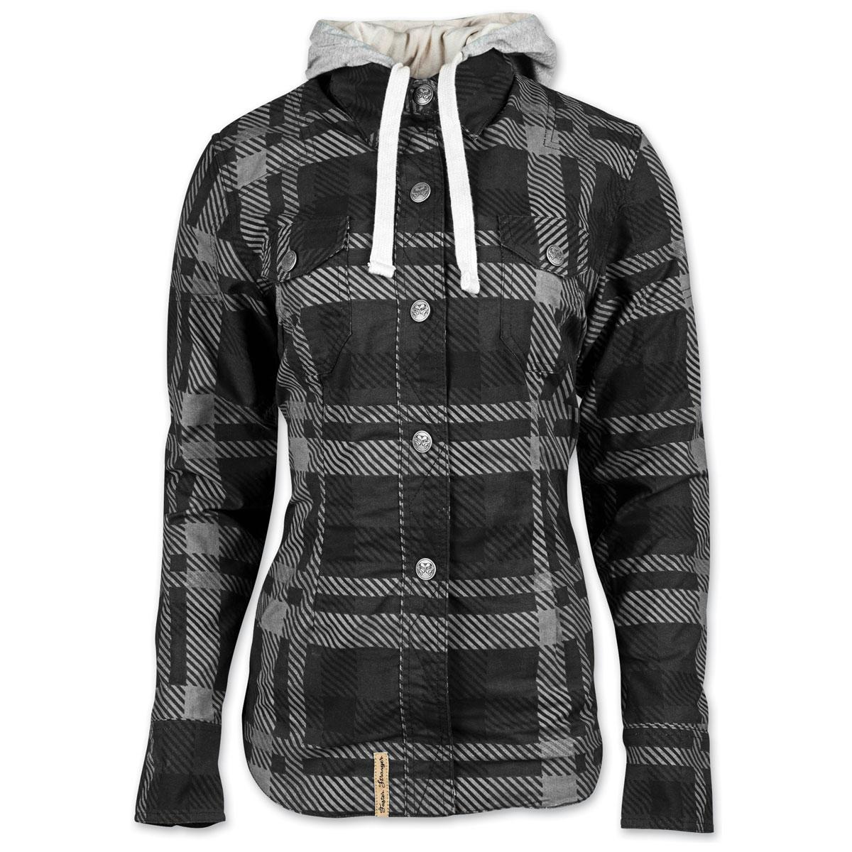 Speed and Strength Women's True Romance Black/Gray Moto Jacket