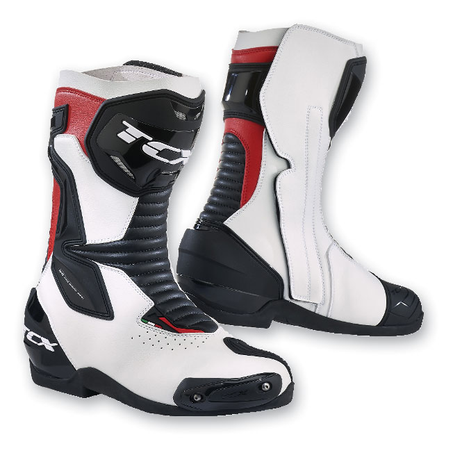 TCX Men's SP Master Air White/Black/Red Boots
