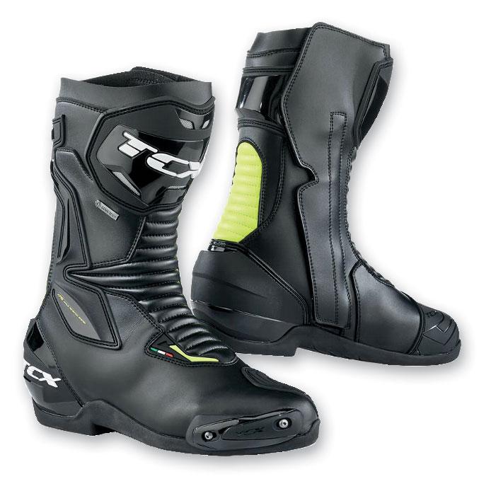 TCX Men's SP Master Gore-Tex Black/Yellow Fluo Boots