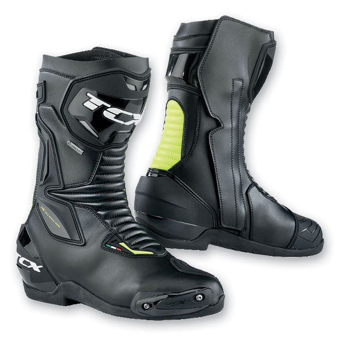 TCX Men's SP Master Gore-Tex Black/Yellow Fluo Boots