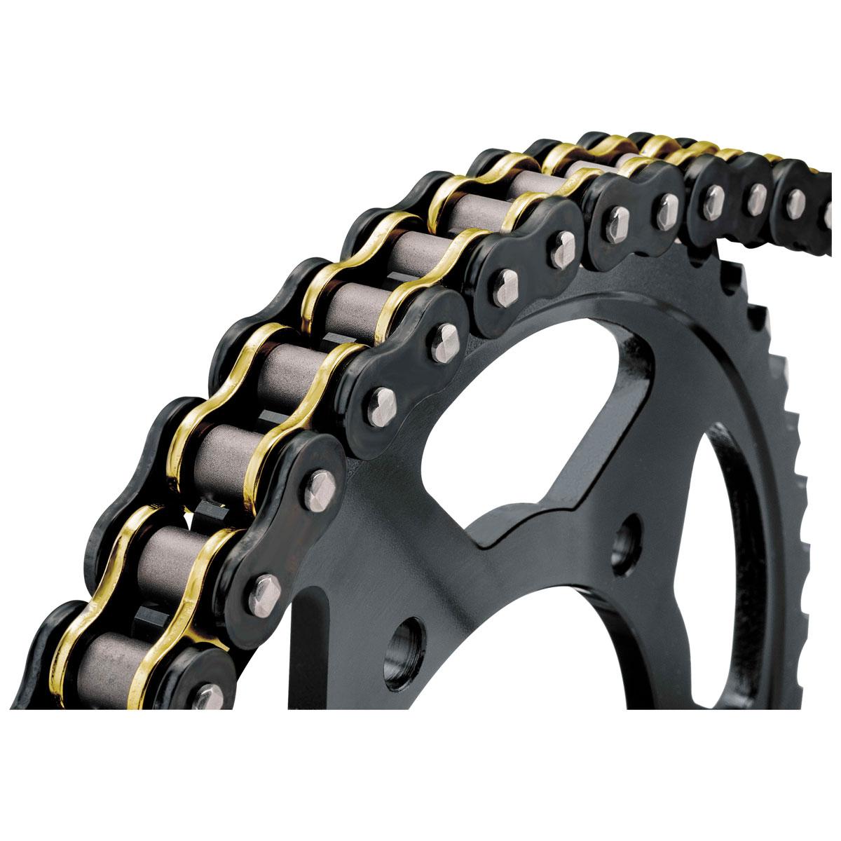 BikeMaster 520 BMOR X 120 O-ring Chain Black/Gold