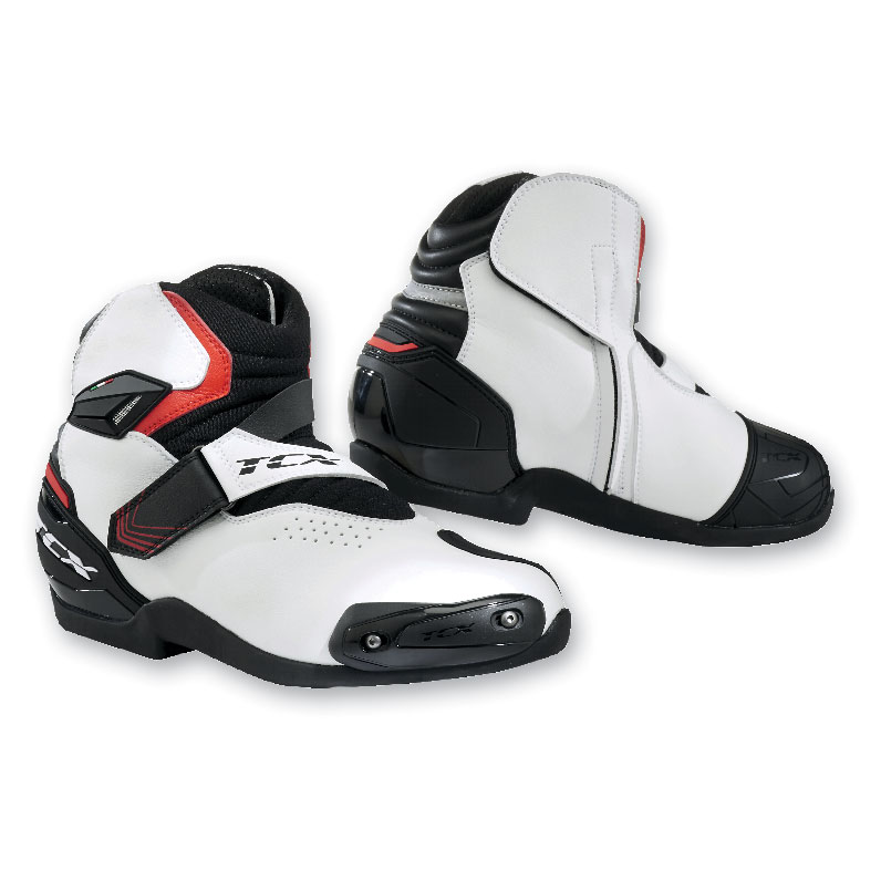 TCX Men's Roadster 2 Air Black/White/Red Boots