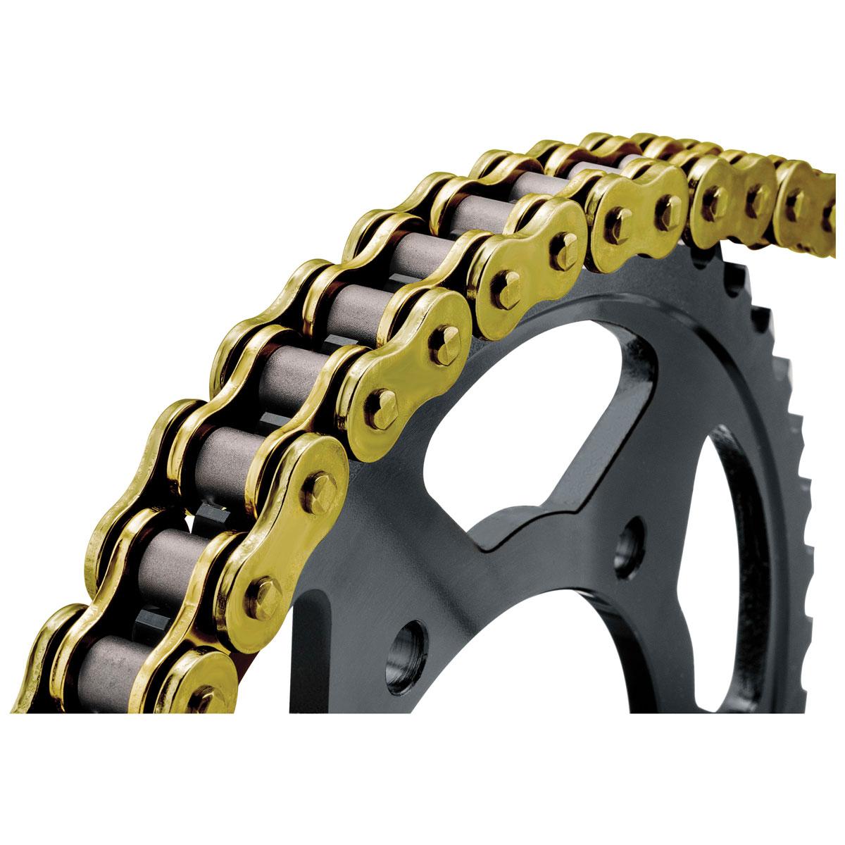 BikeMaster 520 HD Precision Roller Chain Gold