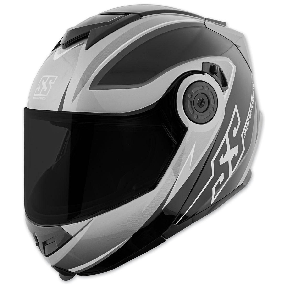 Speed and Strength SS1710 Split Decision Black/Charcoal Modular Helmet