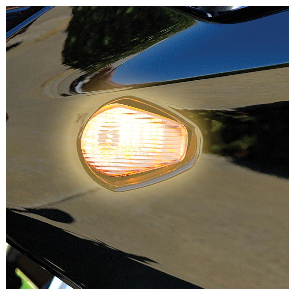 Hotbodies Flush Mount LED Turn Signal Clear
