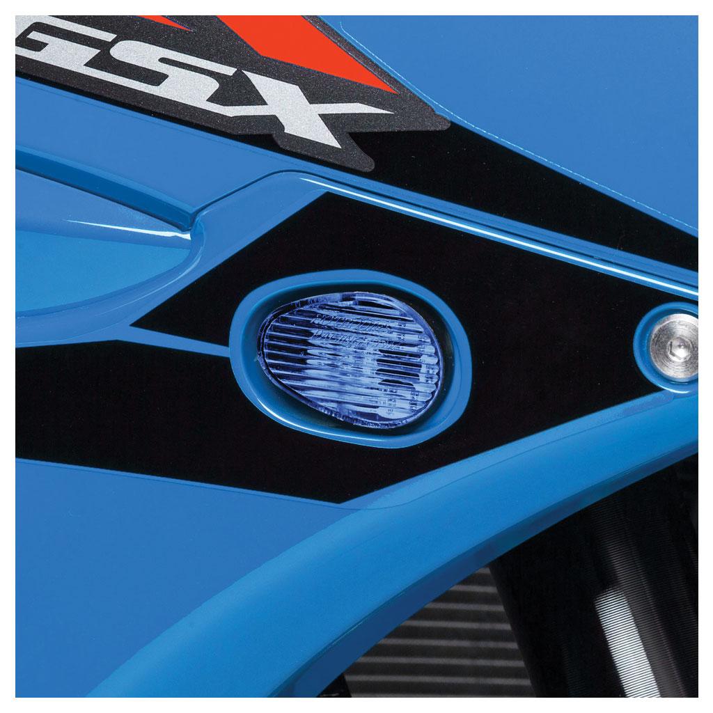 Hotbodies Flush Mount LED Turn Signal Blue