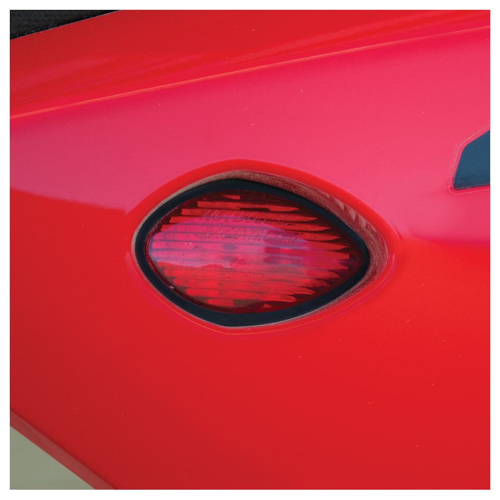 Hotbodies Flush Mount LED Turn Signal Red