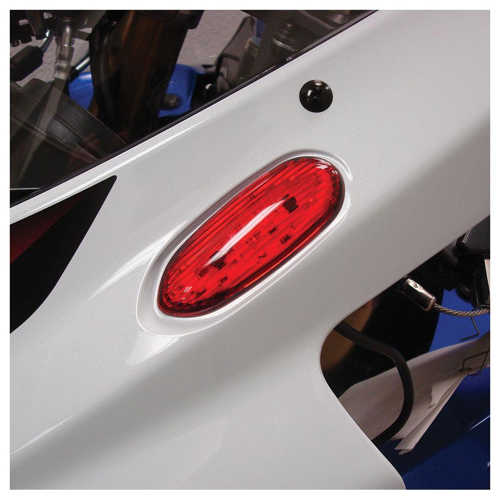 Hotbodies Flush Mount LED Turn Signal Red