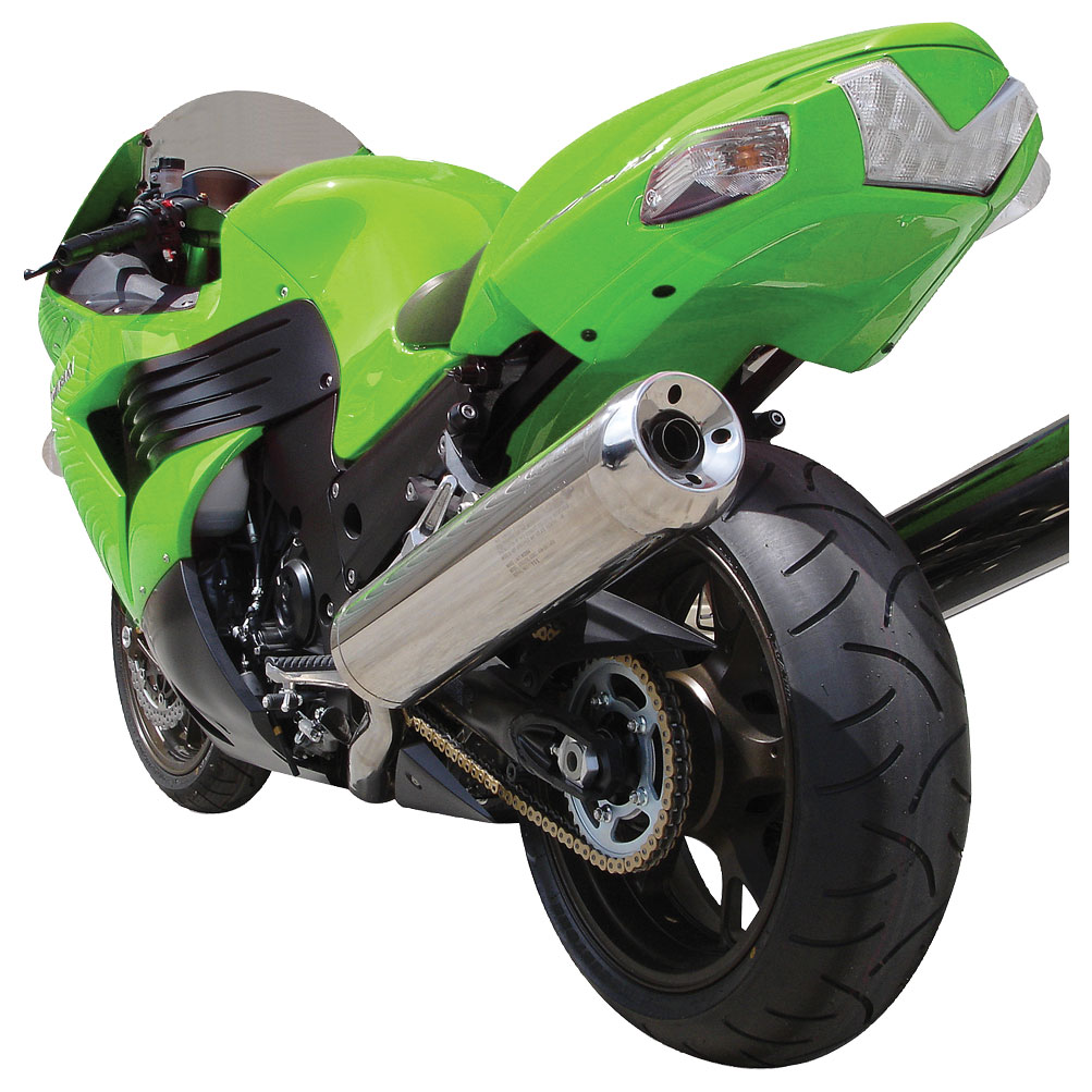 Hotbodies Undertail W/License Plate LED Light Candy Lime Green