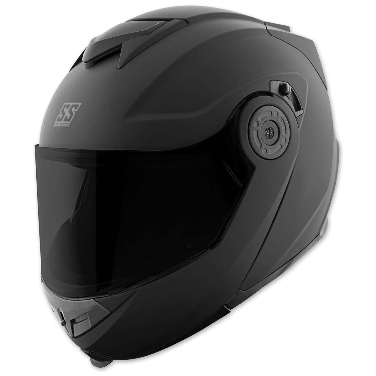 Speed and Strength SS1710 Solid Speed Matte Black Modular Helmet