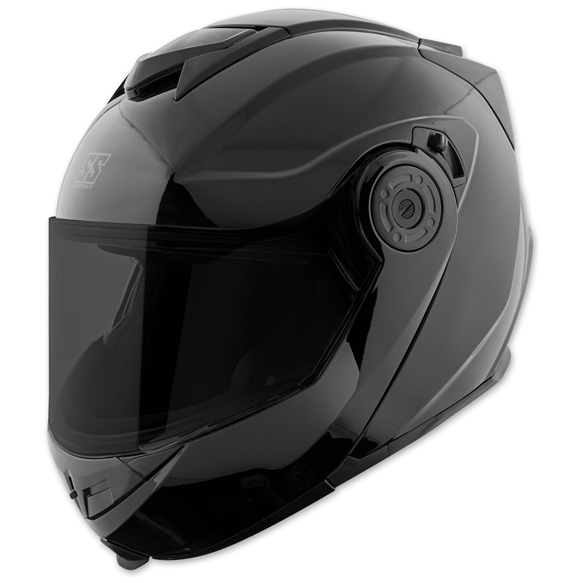 Speed and Strength SS1710 Solid Speed Gloss Black Modular Helmet