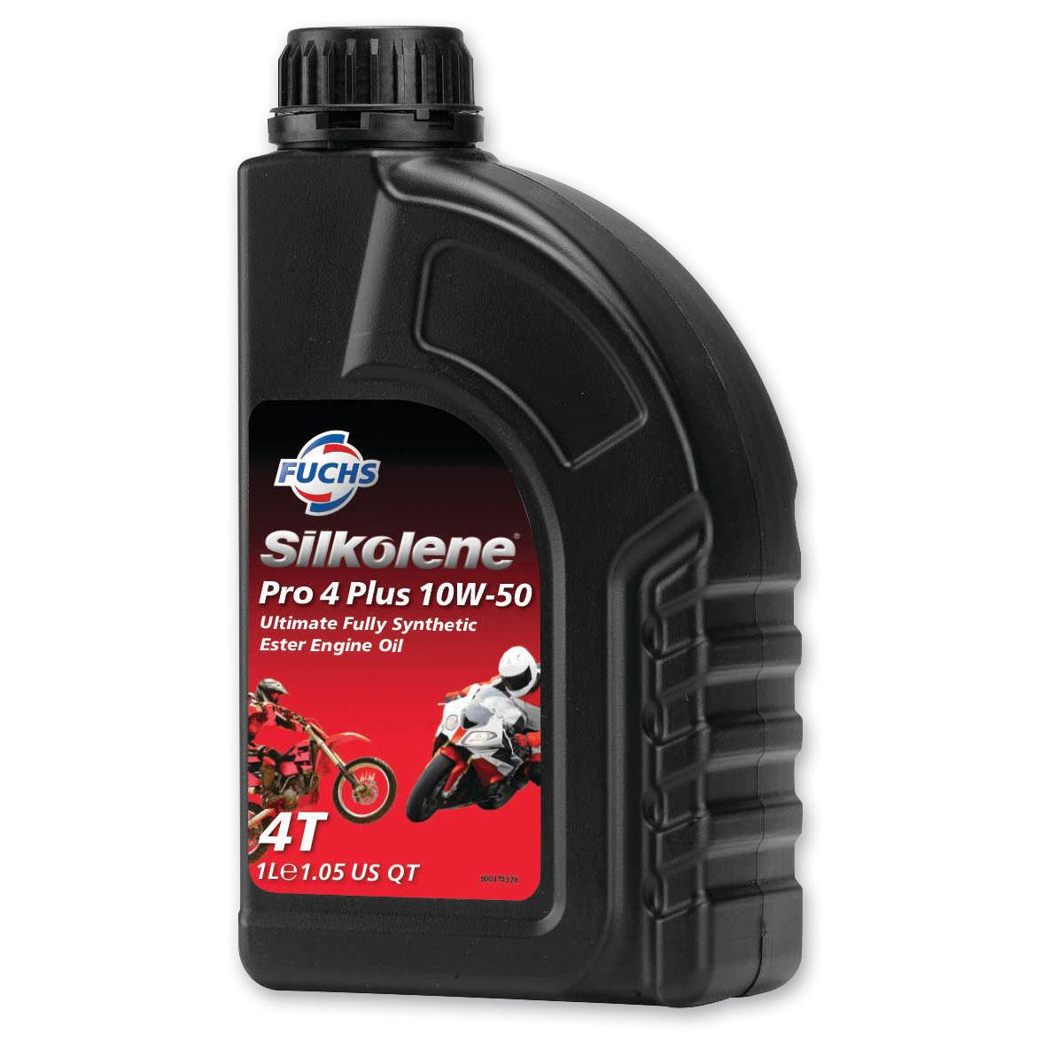 Silkolene Pro 4 Plus 10W50 Engine Oil Liter