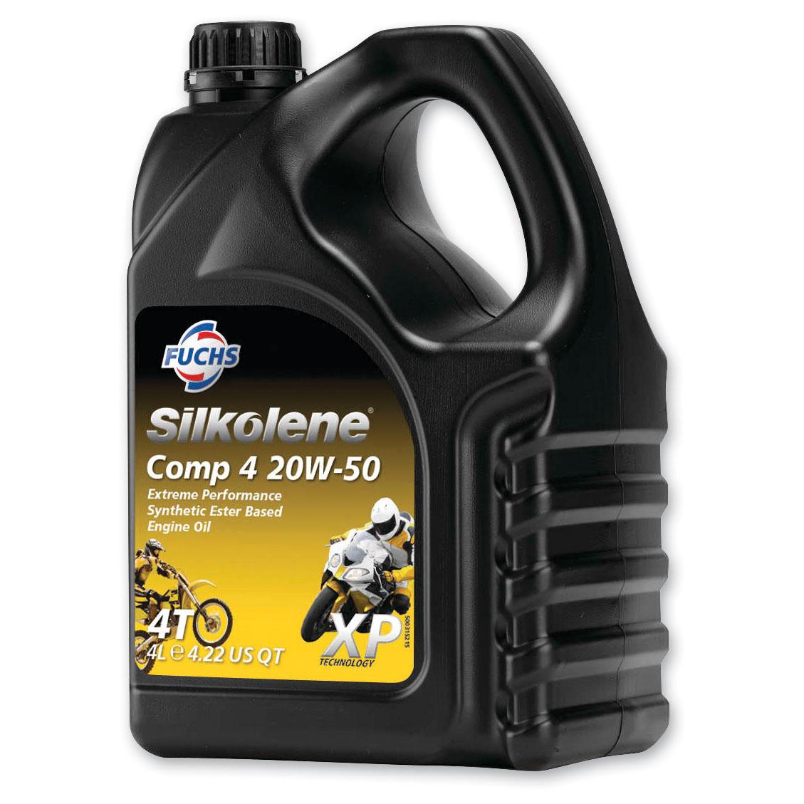Silkolene Comp 4 XP 20W50 Engine Oil 4L