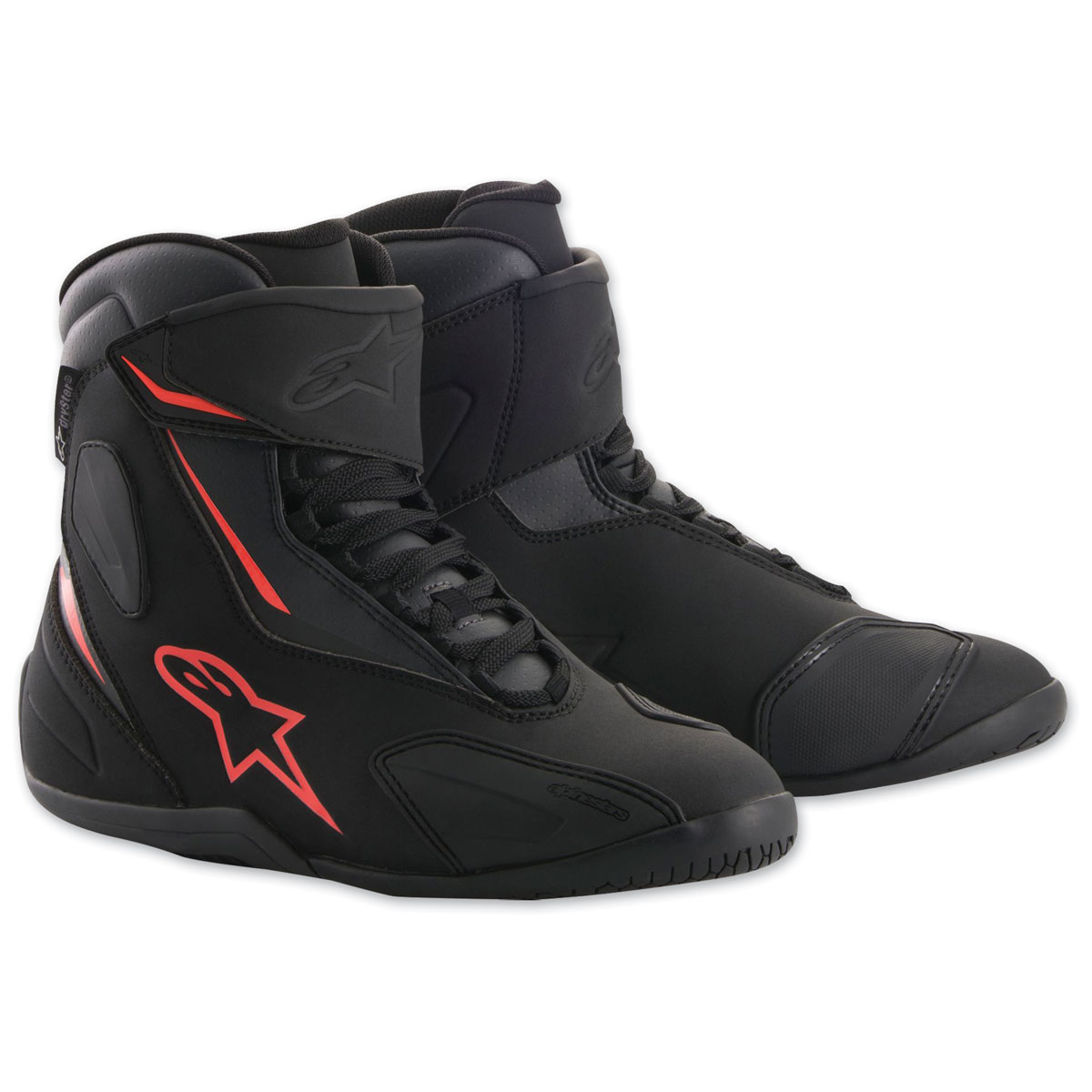 Alpinestars Men's Fastback-2 Drystar Black/Red Shoes