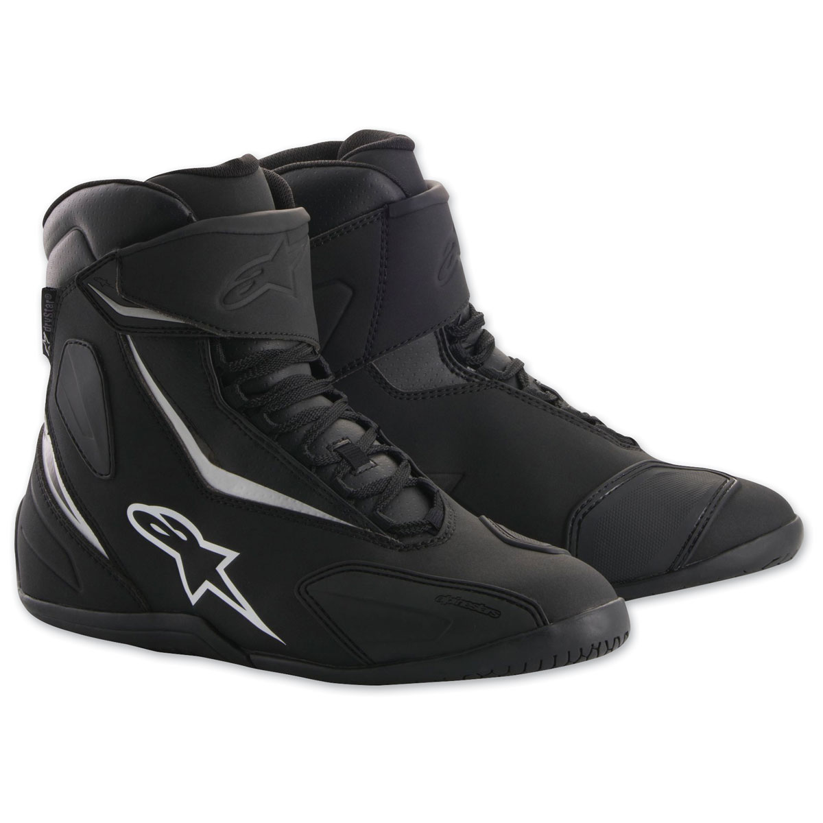 Alpinestars Men's Fastback-2 Drystar Black/Black Shoes