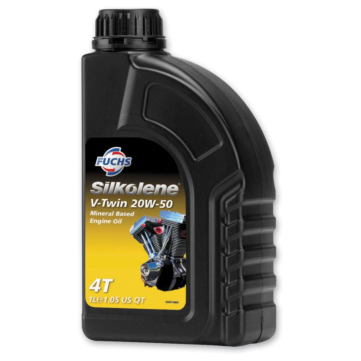 Silkolene V-Twin 20W50 Engine Oil 4L