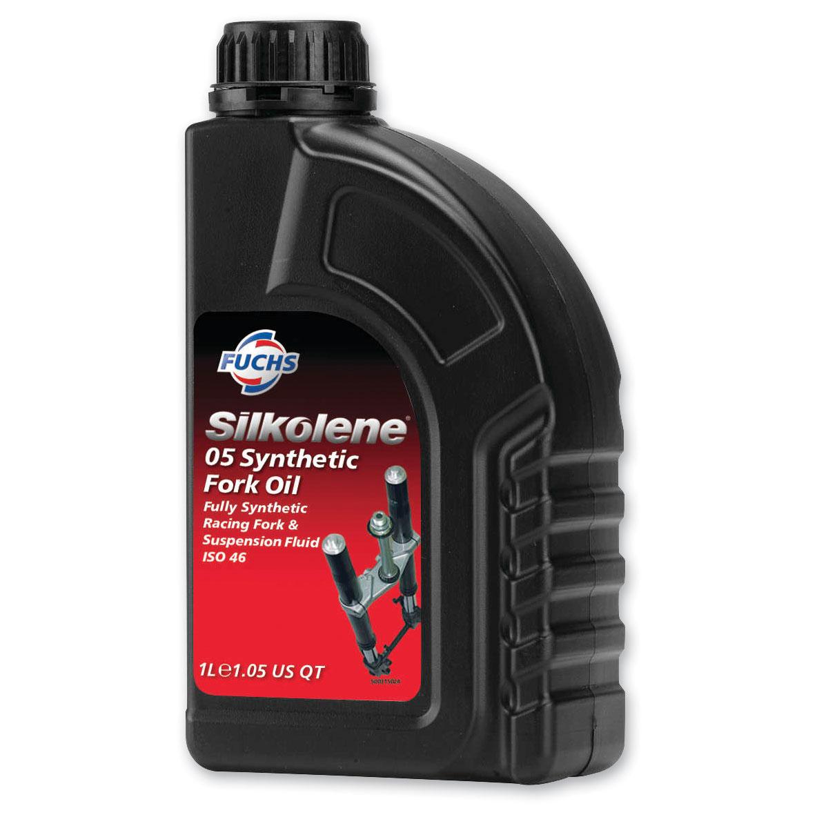 Silkolene 05 Synthetic Racing Fork Fluid Liter