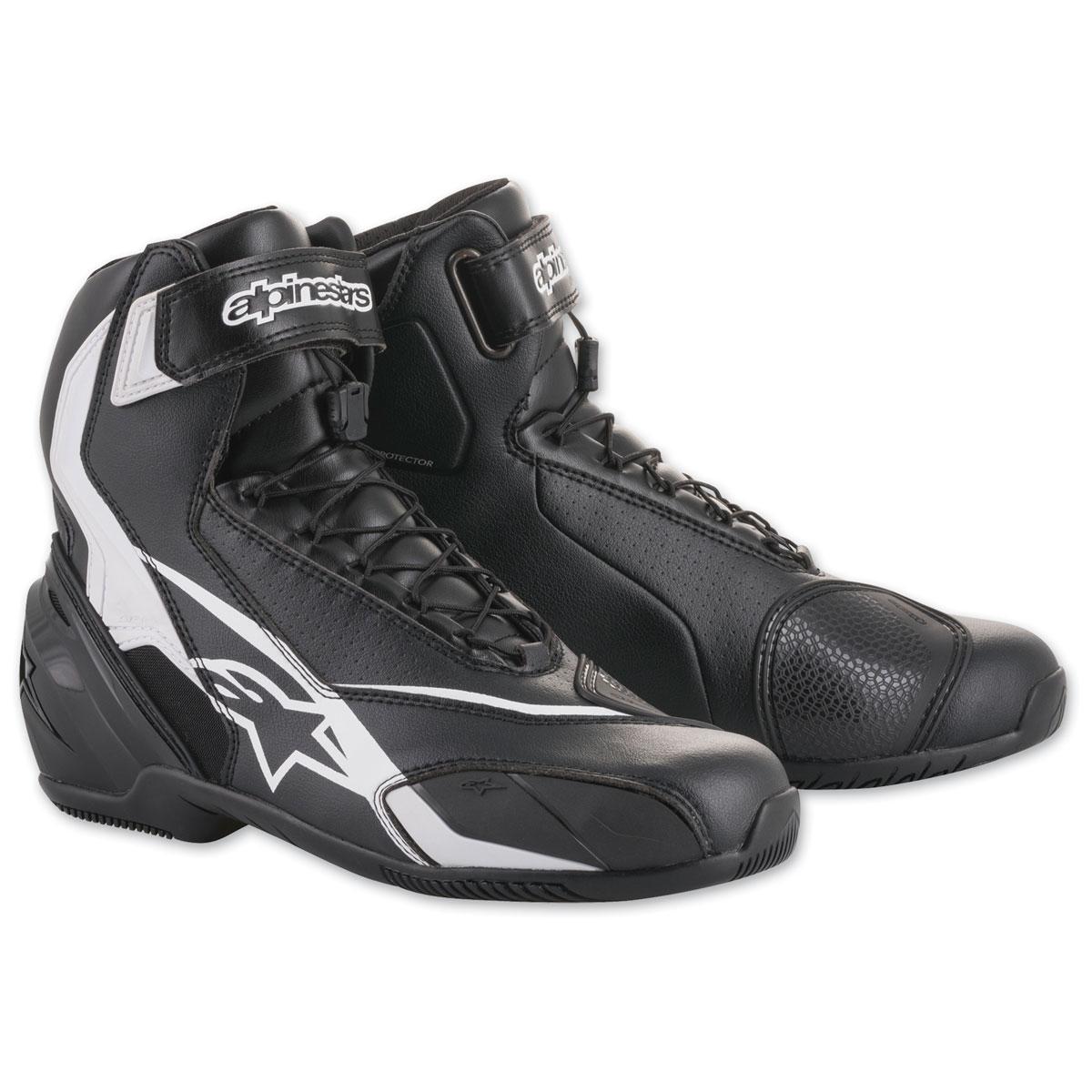 Alpinestars Men's SP-1 v2 Black/White Boots