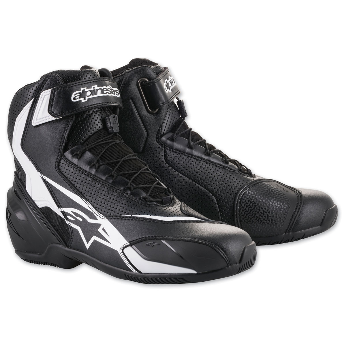 Alpinestars Men's SP-1 v2 Vented Black/White Boots