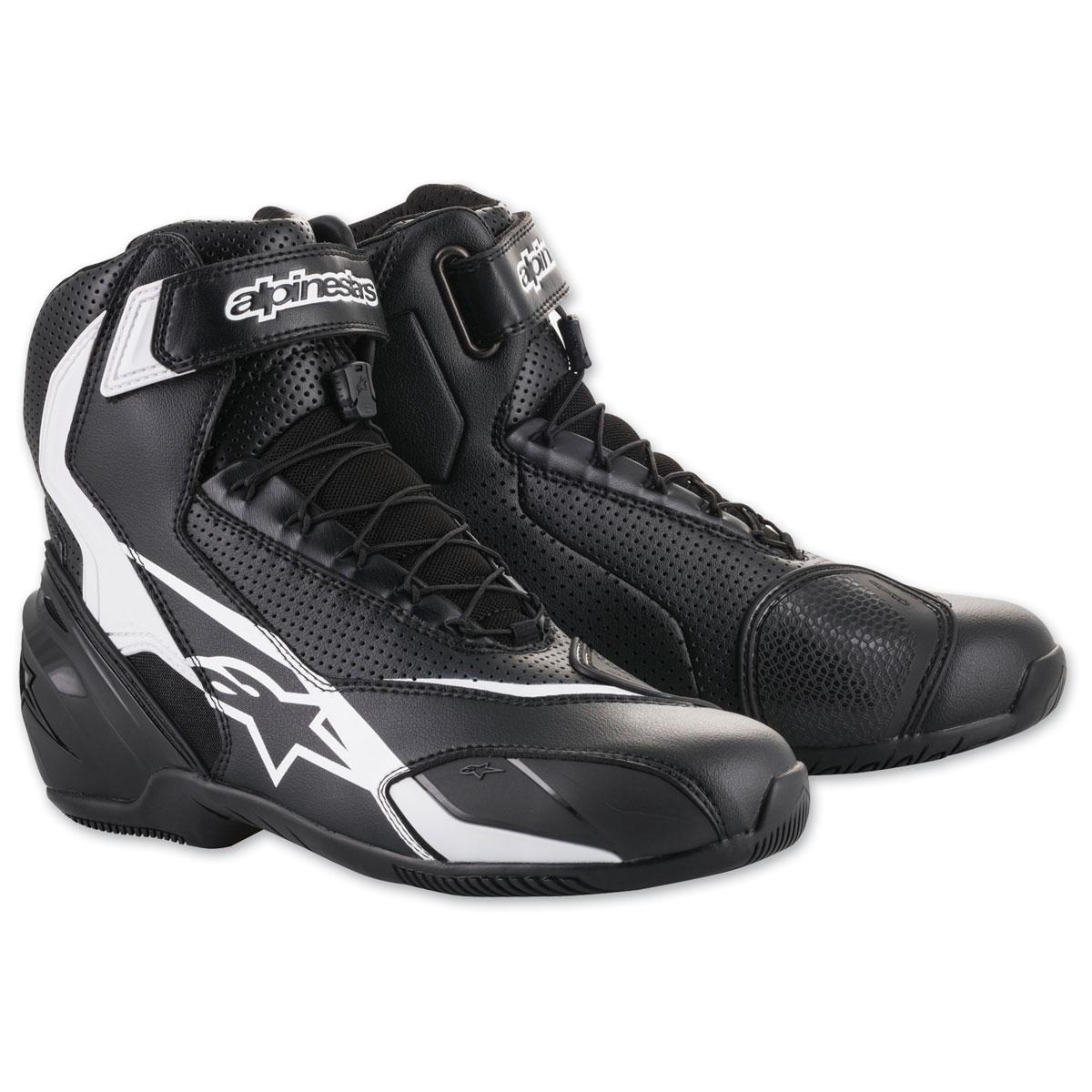 Alpinestars Men's SP-1 v2 Vented Black/White Boots