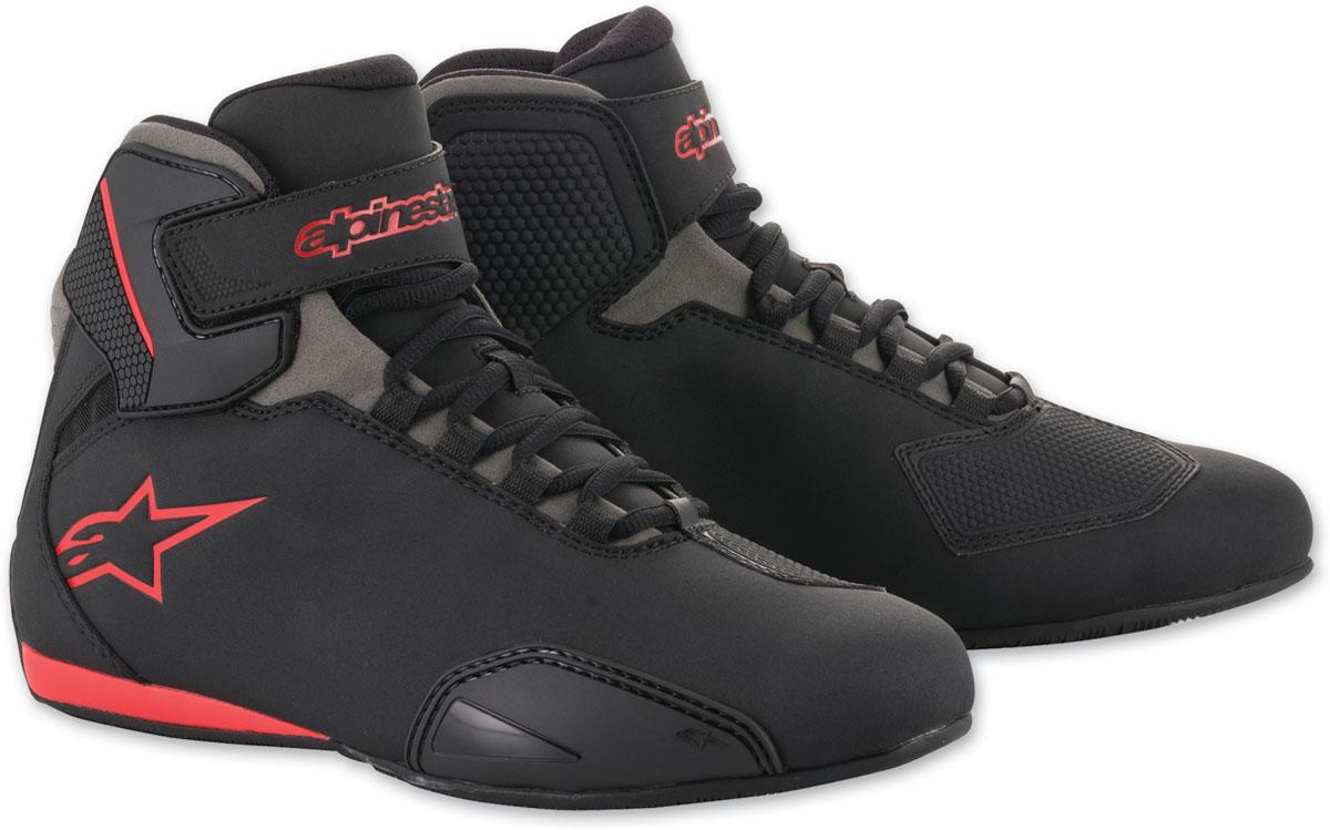 Alpinestars Men's Sektor Black/Gray/Red Shoes