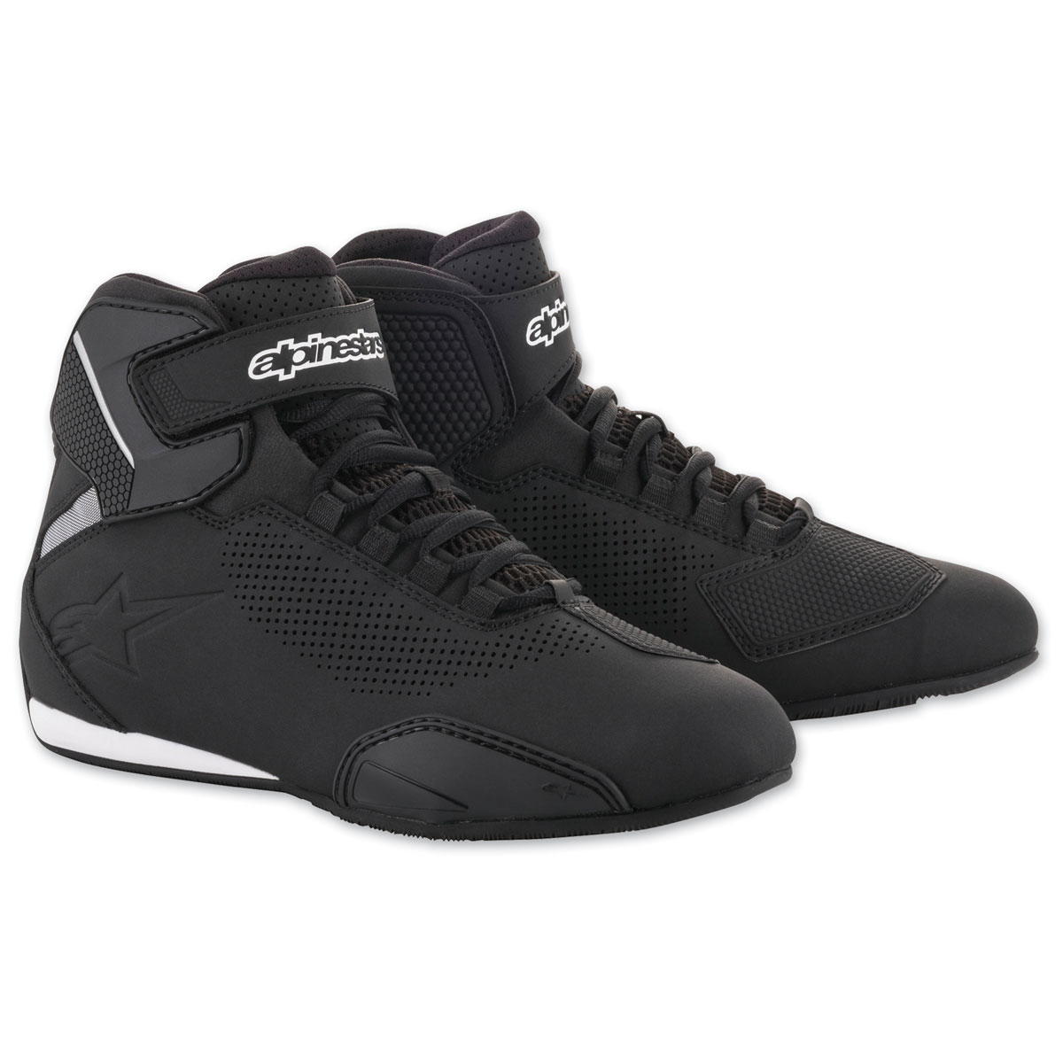 Alpinestars Men's Sektor Vented Black Shoes