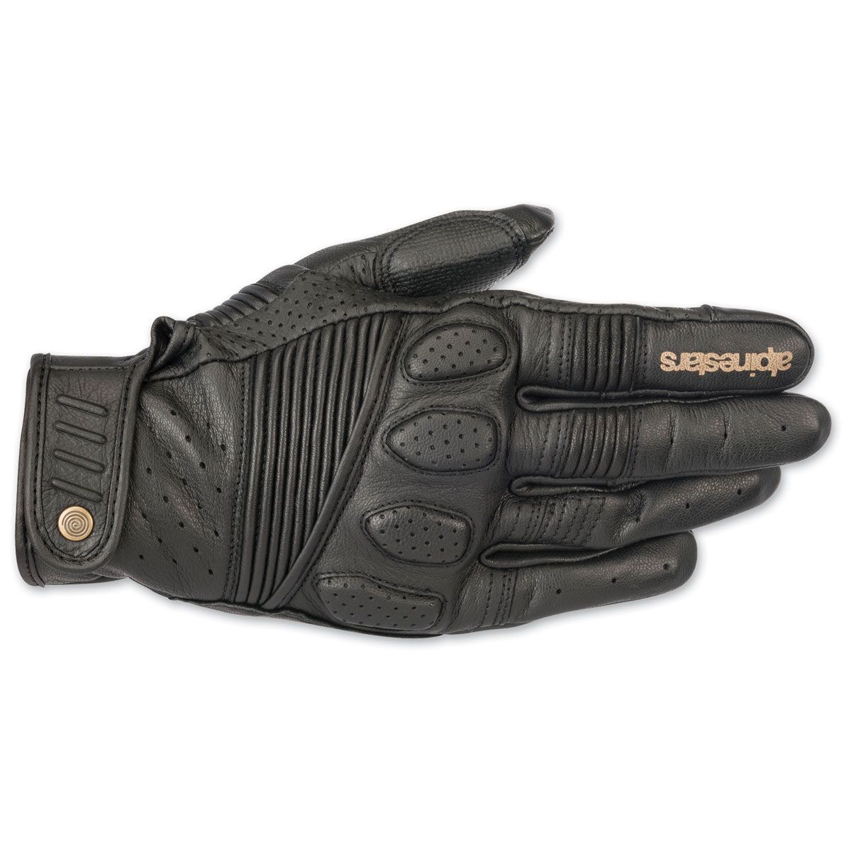 Alpinestars Men's Crazy Eight Black Gloves