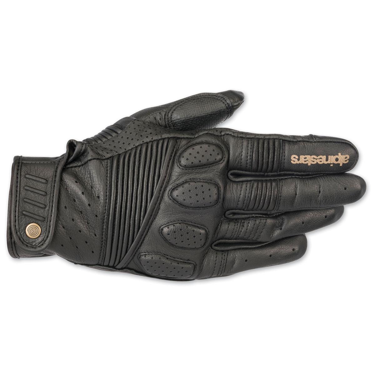Alpinestars Men's Crazy Eight Black Gloves