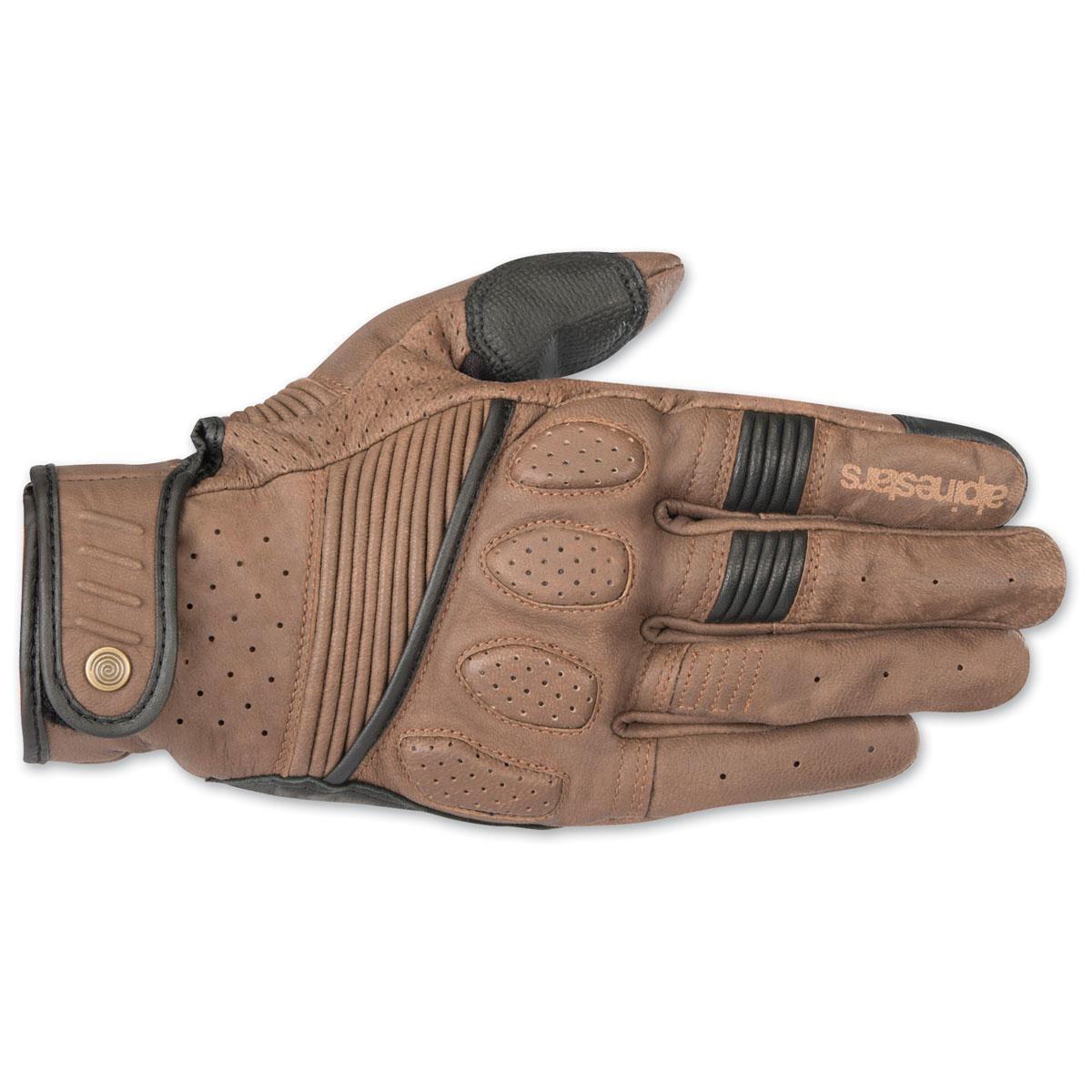 Alpinestars Men's Crazy Eight Brown/Black Gloves