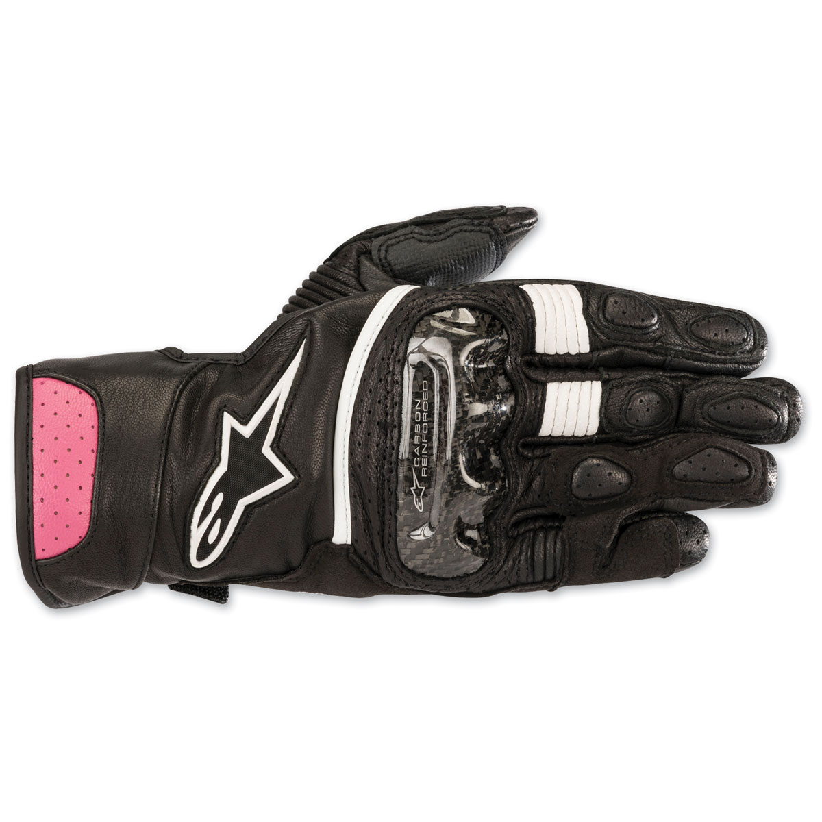 Alpinestars Women's Stella SP-2 v2 Black/Purple Gloves