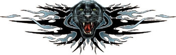 Lethal Threat Decal: Panther Attack