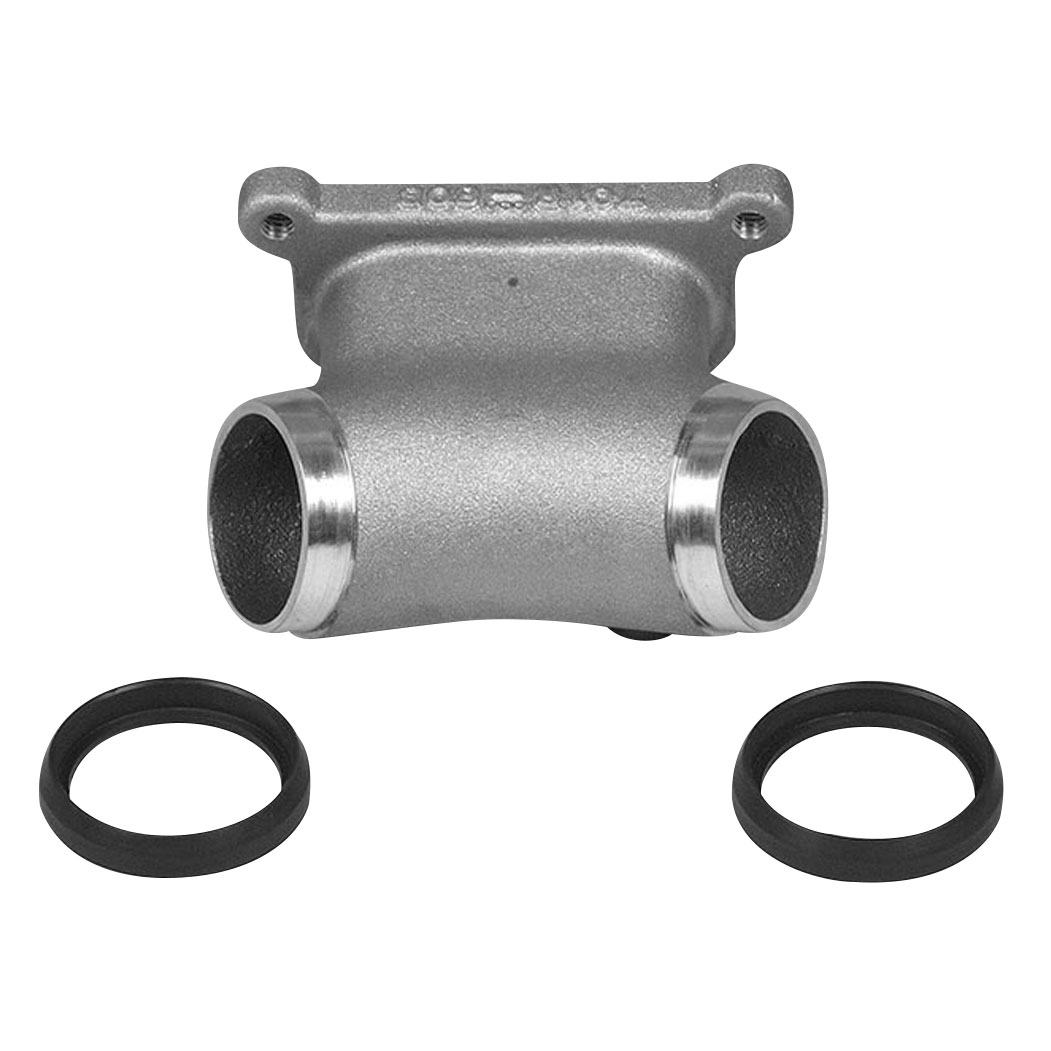 Genuine James Rubber with Metal Lip Manifold Seal