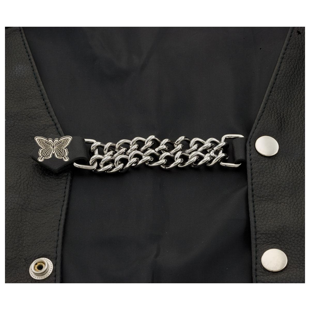 Eagle Leather Butterfly Vest Extender