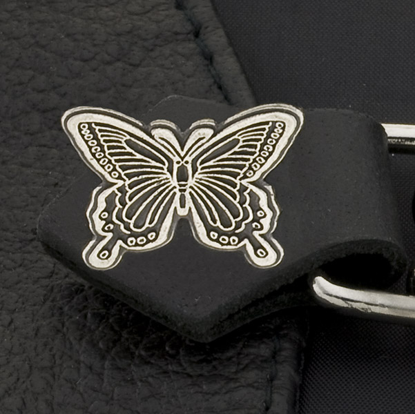 Eagle Leather Butterfly Vest Extender