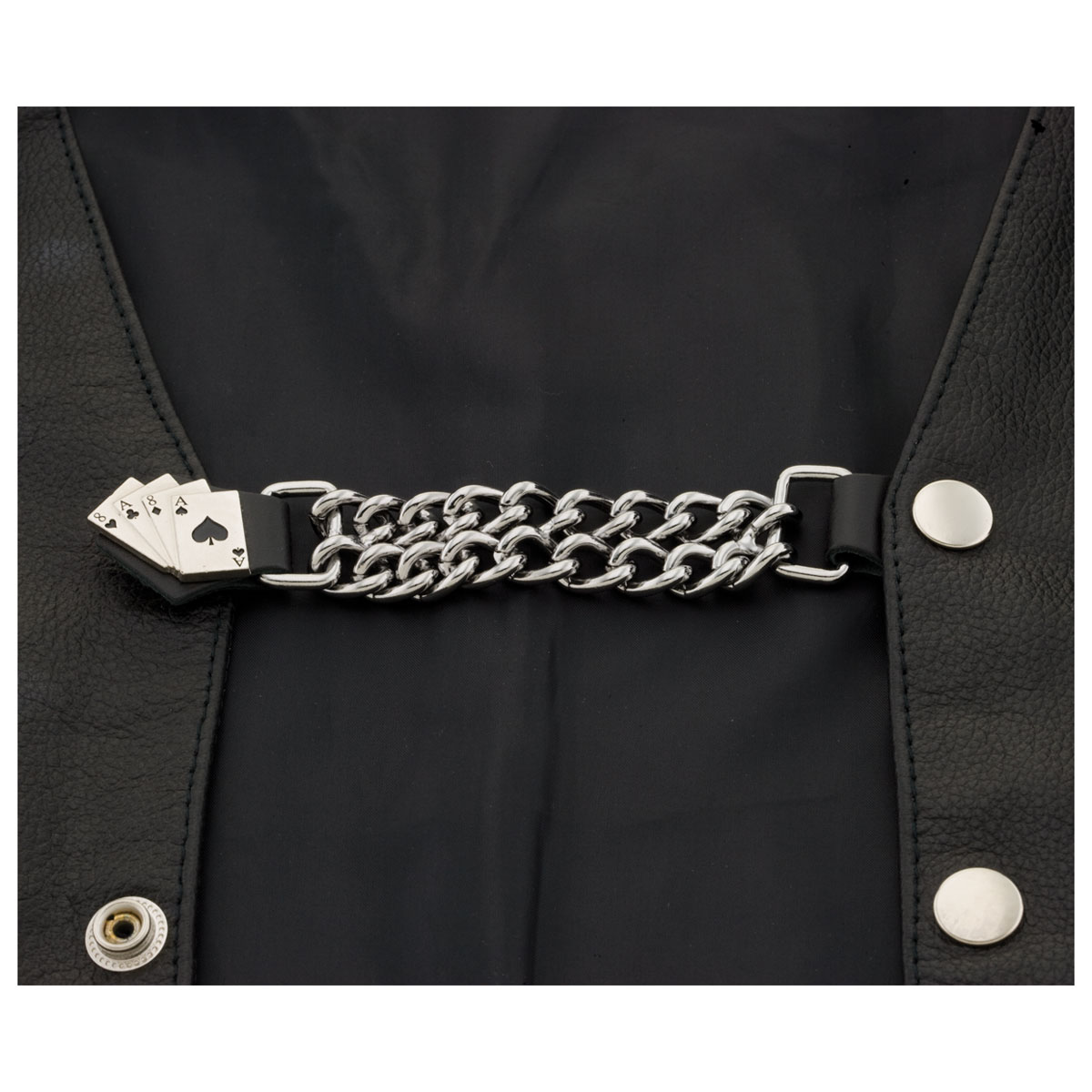 Eagle Leather Aces and Eights Vest Extender