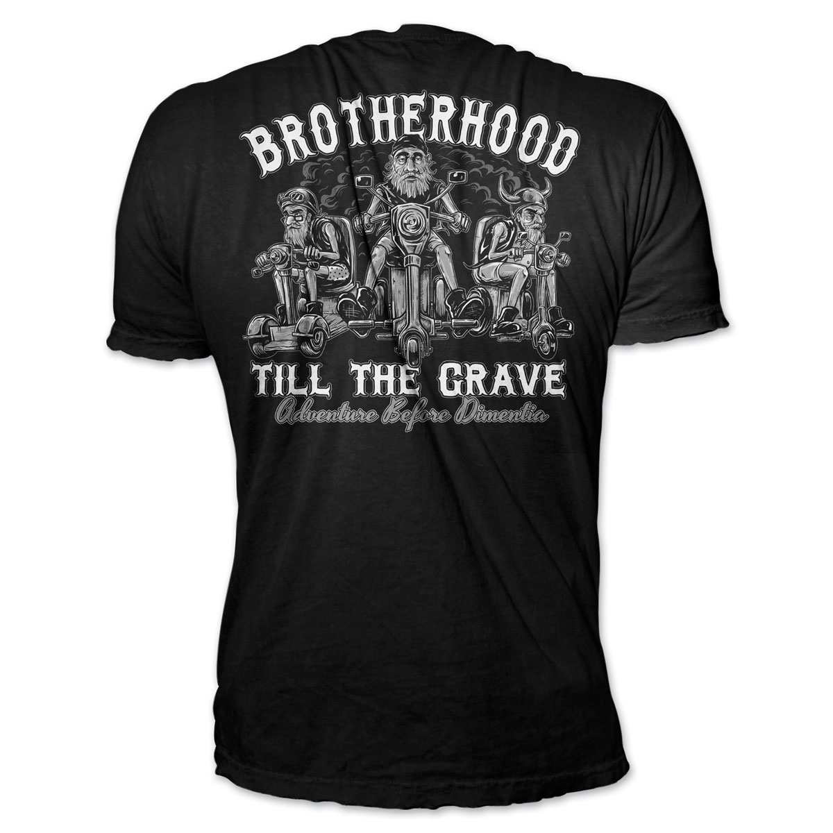 Lethal Threat Brotherhood Till the Grave Black T-shirt